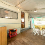 Caravan - veranda