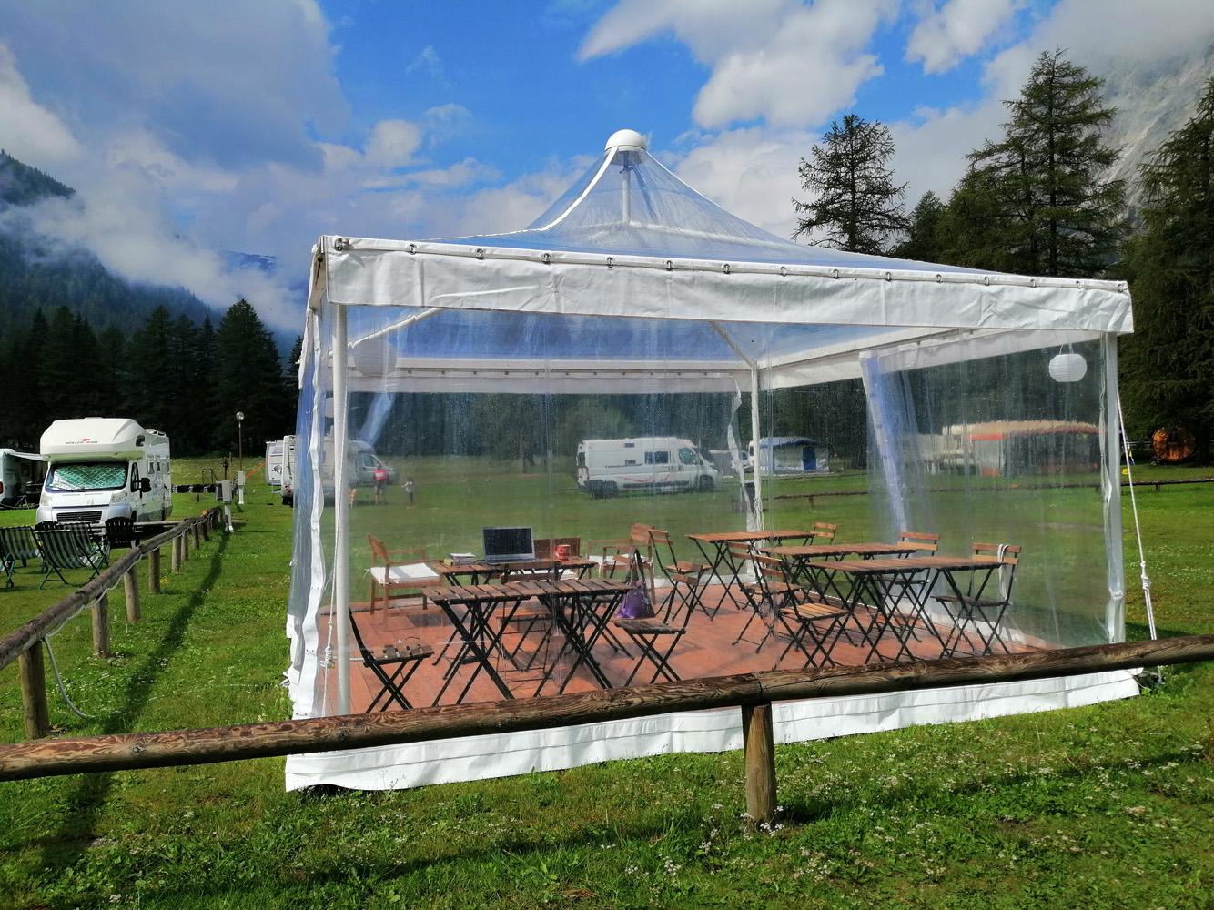 Dehor Camping Aiguille Noire