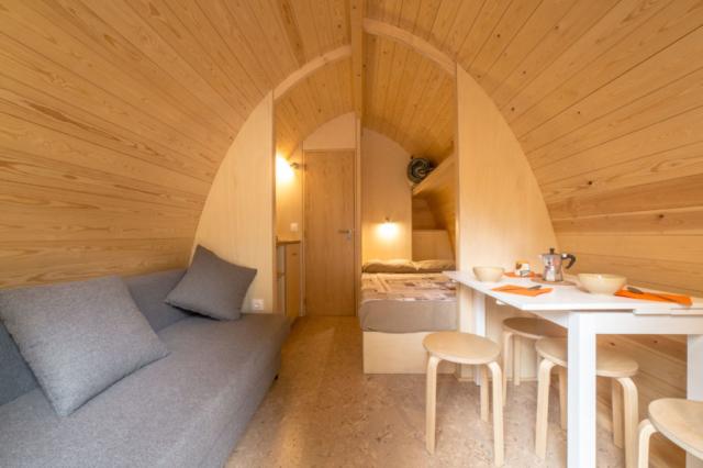 Camping Pod - interno