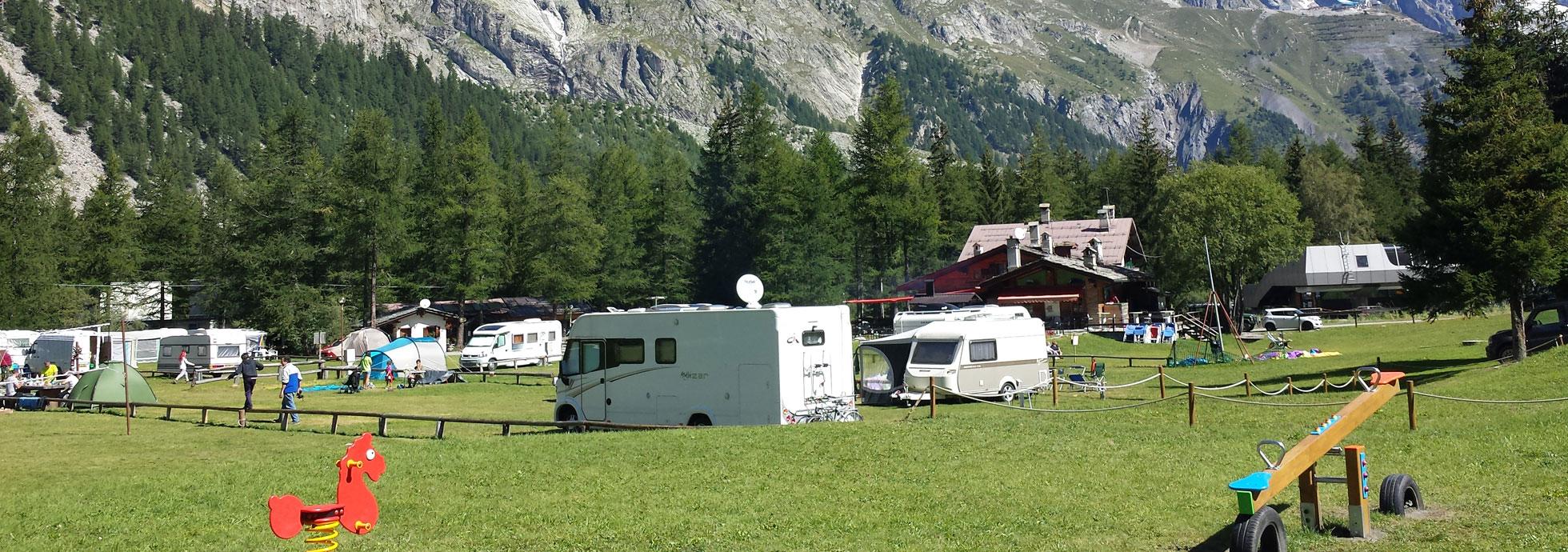 campeggio - vista panoramica