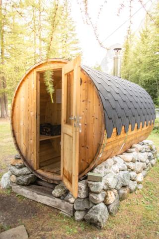 Campeggio - Sauna