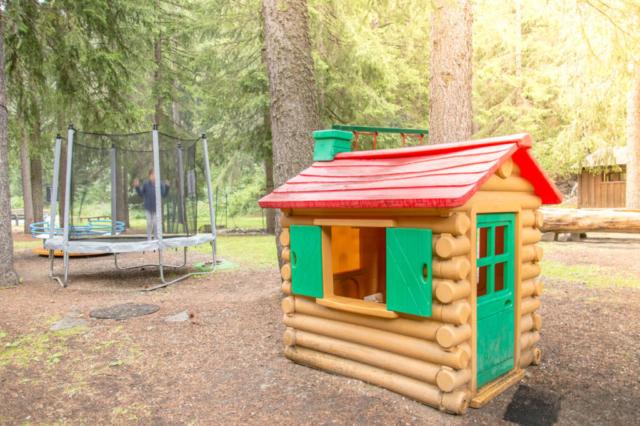Campeggio - area giochi