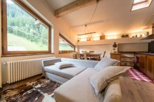 Appartamento grande - soggiorno
