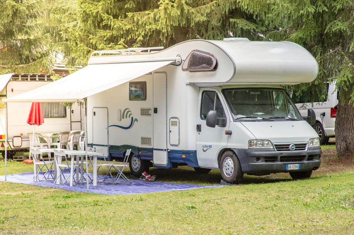 Campeggio - piazzole camper