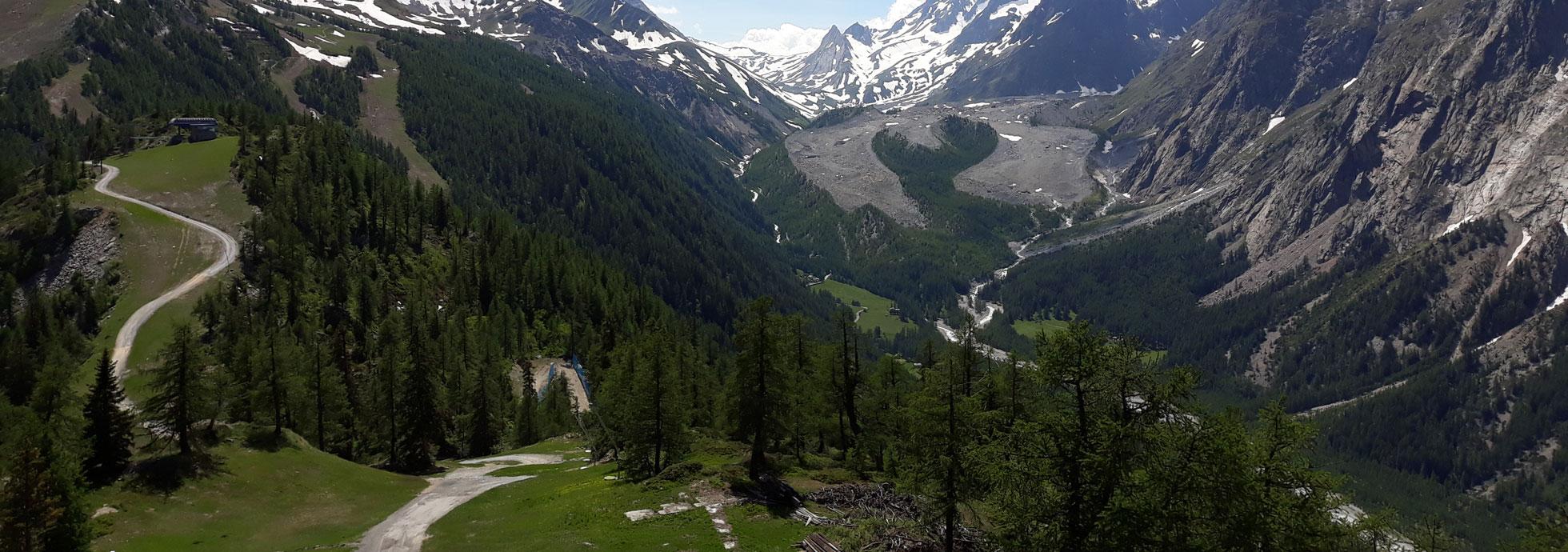 Panorama Val Veny