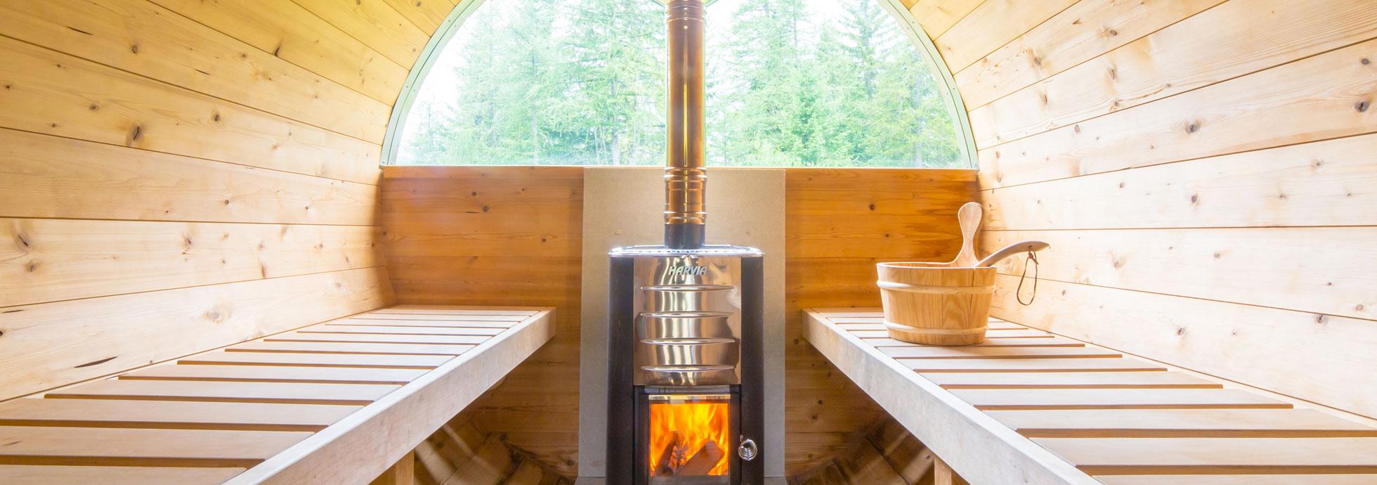 Camping Aiguille Noire - Sauna
